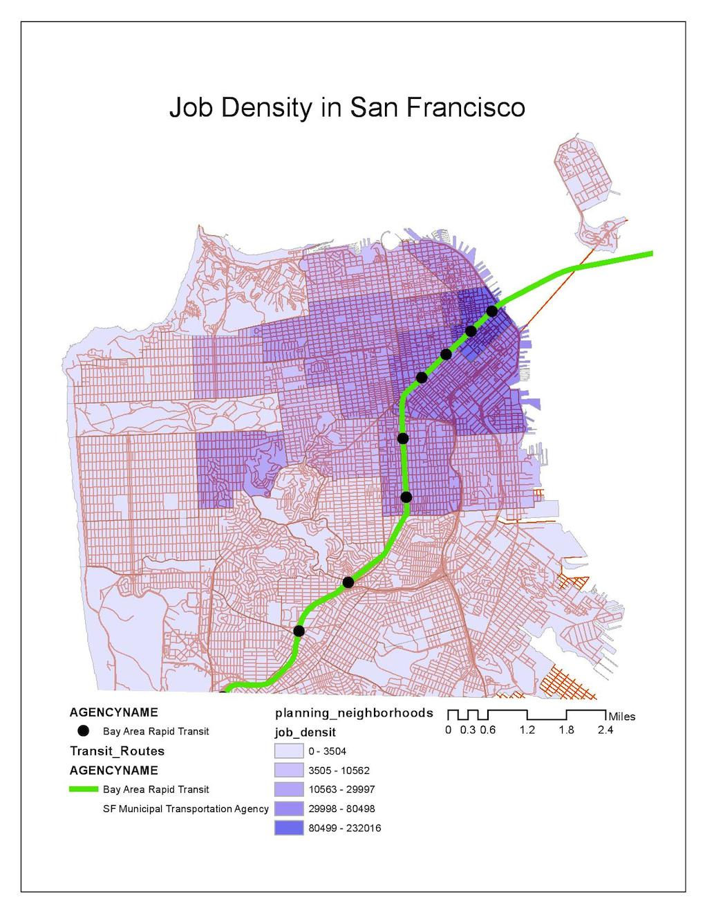 SF Job Density